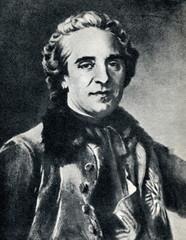 Maurice de Saxe (portrait of Maurice Quentin de La Tour)