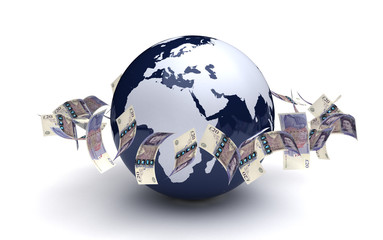 Global Business Pound Currency