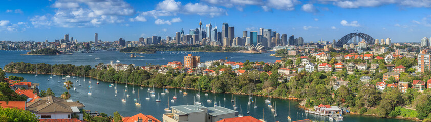 Sydney Harbour  panorama from Mosman