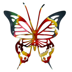Logo mariposa red