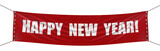 Happy New year Banner (clipping path included)
