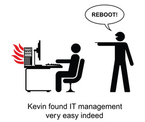 Kevin found IT management easy