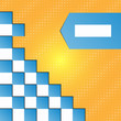 Seamless blocks vector background - eps 10 design