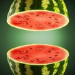 Watermelon cross sections
