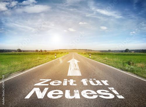 Fototapete Strasse - Gasse - Poster - Aufkleber