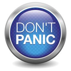 blue don't panic button