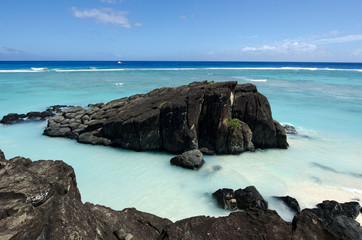 Black Rock in Rarotonga, Cook Islands