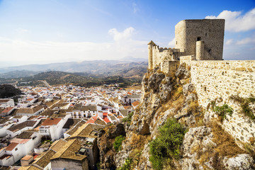 Castle of Olvera, Cadiz Province, Andalusia, Spain.
