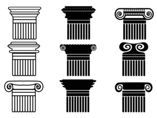 column icons set