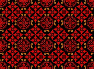 background batik black red