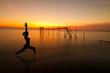 Fototapeten,erwachsen,asiatisch,balance,strand