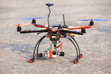 Multicopter with camera poster