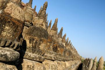 Myanmar, Mrauk U - Kothaung Temple