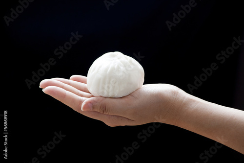 Chinese steamed bun (Dim Sum)