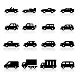 Cars Icons three