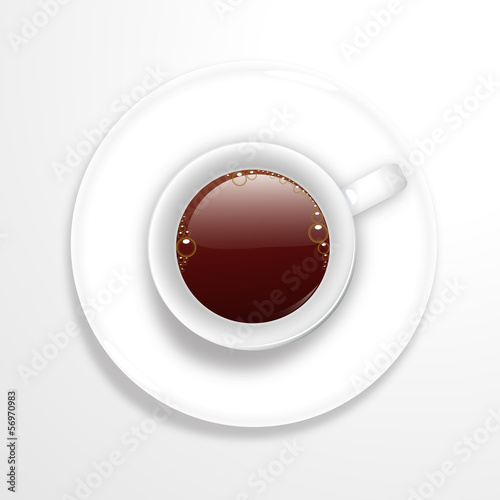 Vector logo coffee