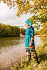 Fisherman from sort Udege