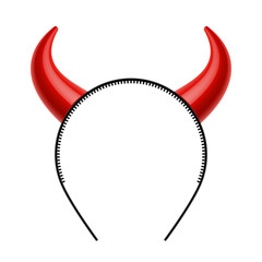 Devil's horns head gear