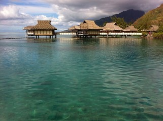 Overwater Bungalow French Polynesia