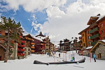 Station de ski - Les Arcs 1950, Savoie, France