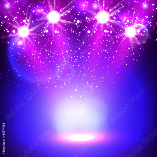 spotlight background design, easy all editable