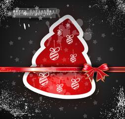 Christmas Vintage design background