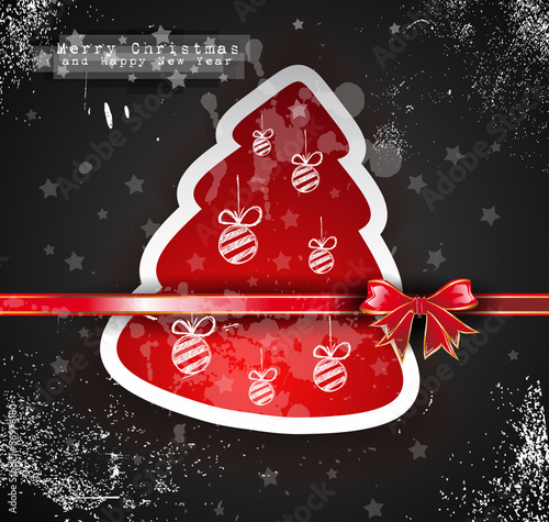 Christmas Vintage design background