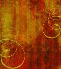 gold rot muster verzierung
