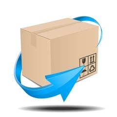 宅配物の発送