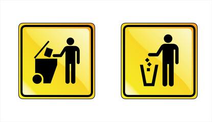 çöp atmak