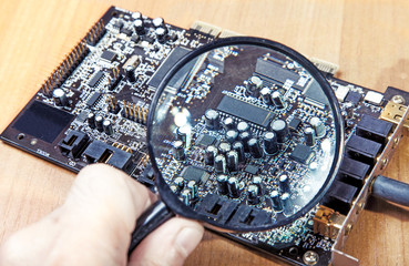 repair and maintenance of  hardware devices