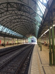 S Bahn Station in Wien