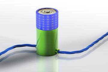 Batterie Solar Kabel
