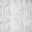 canvas print picture - Seamless background texture of white wooden wall