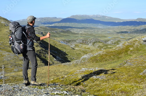 canvas print picture Hardangervidda Natur Norwegen