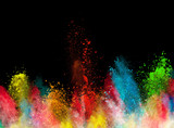 launched colorful powder - Fine Art prints