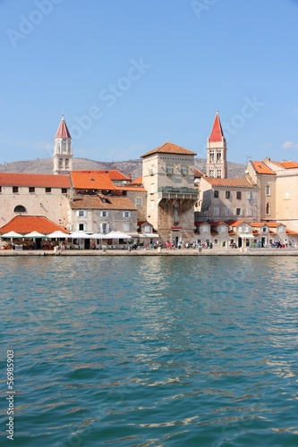 Croatia - Trogir old town, UNESCO World Heritage Site