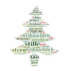 Tannenbaum Weihnachten abstrakt