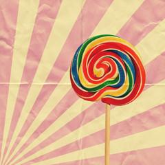 retro lollipop