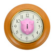 piggy bank clock