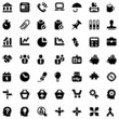 iconset businnes work black