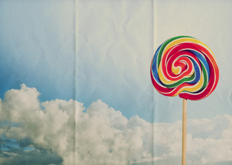paper candy sky