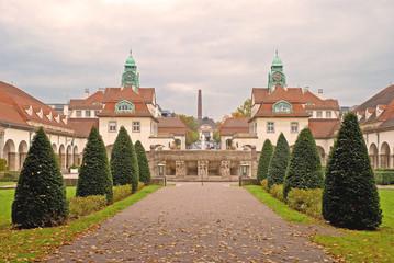 Der Sprudelhof in Bad Nauheim