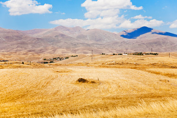 mountail plateau in Armenia