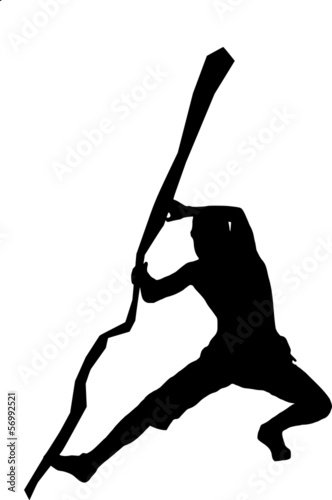 silhouette of a climber