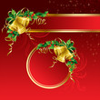 Background with Christmas bells