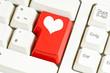 Herz Tastatur