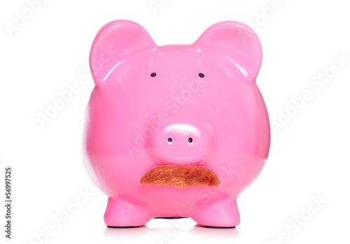 Piggy bank banker