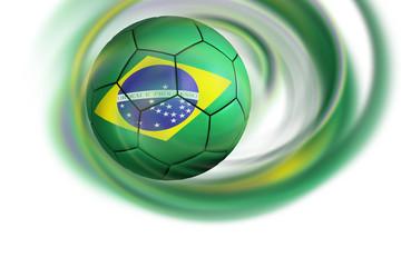 Fussball Brasilien Spirale