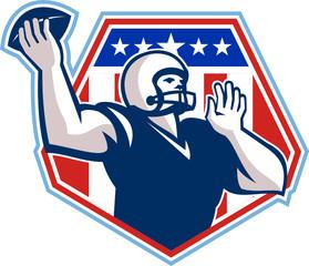 American Football Quarterback Shield